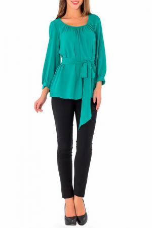 Блуза S&A style. Цвет: зеленый