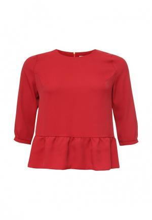 Блуза Intikoma. Цвет: красный