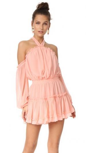 Платье Indi MISA. Цвет: пыльный розовый