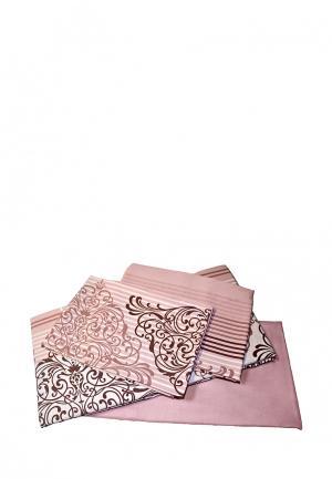 Постельное белье Tete-a-Tete. Цвет: розовый