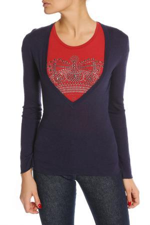 Пуловер Annapurna. Цвет: синий