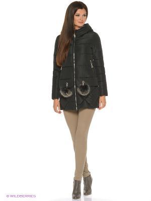 Куртка FREYA. Цвет: черный