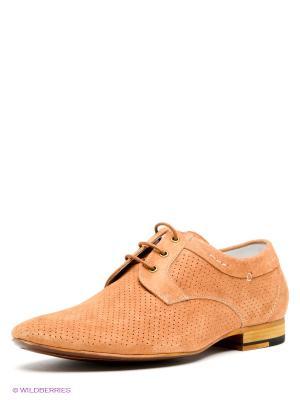 Туфли Calipso. Цвет: светло-коричневый