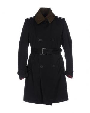 Легкое пальто NEMEN. Цвет: темно-синий