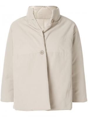 Куртка с рукавами три четверти Aspesi. Цвет: телесный