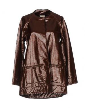 Легкое пальто JIJIL. Цвет: коричневый