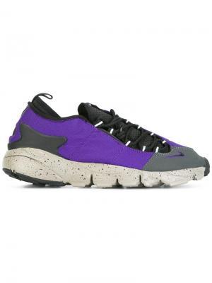 Кеды Air Footscape NM Nike. Цвет: розовый и фиолетовый