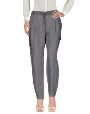 Повседневные брюки I BLUES. Цвет: серый