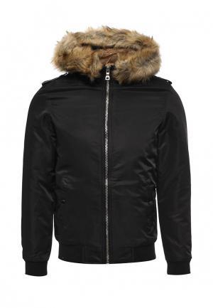 Куртка утепленная Chromosome. Цвет: черный