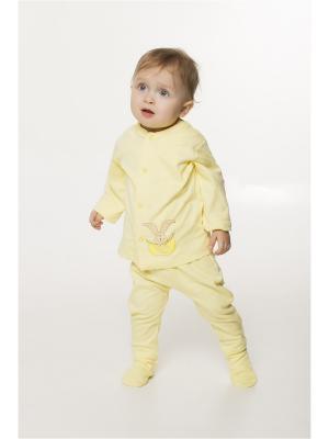 Кофточка ORANGE BABY. Цвет: светло-желтый, желтый