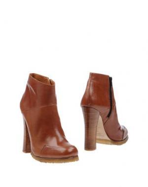 Полусапоги и высокие ботинки BALTARINI. Цвет: коричневый