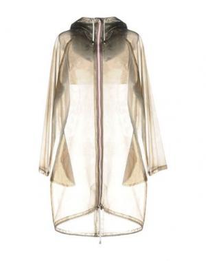Легкое пальто WANDA NYLON. Цвет: серый