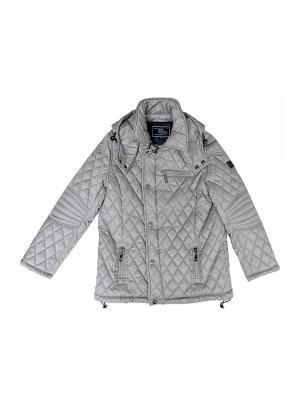 Куртка BORELLI. Цвет: серый