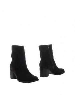 Полусапоги и высокие ботинки SGN GIANCARLO PAOLI. Цвет: темно-коричневый