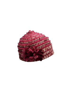 Шляпа Venera. Цвет: бордовый