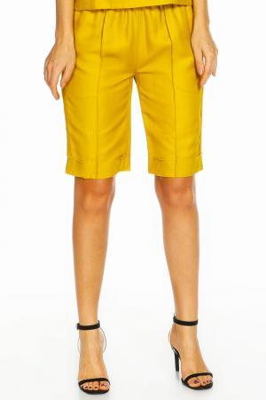 Брюки-шорты ZHOR&NEMA. Цвет: желтый