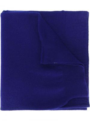 Шарф No.7 Extreme Cashmere. Цвет: синий