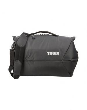 Дорожная сумка THULE®. Цвет: стальной серый