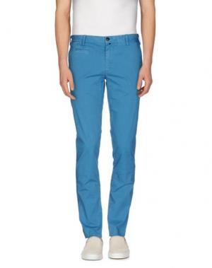 Повседневные брюки JAGGY. Цвет: лазурный