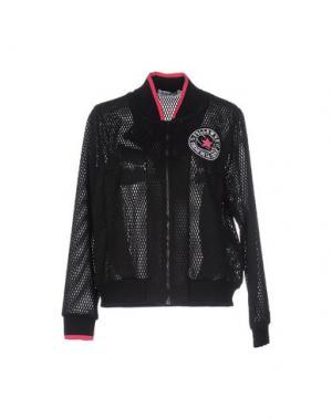 Куртка FOLLOW US. Цвет: черный