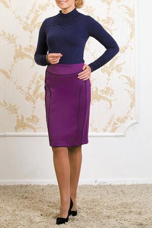 Юбка MARCA-M. Цвет: фиолетовый