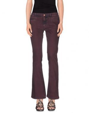 Джинсовые брюки MIH JEANS. Цвет: фиолетовый