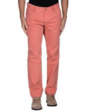 Повседневные брюки JUST CAVALLI. Цвет: лососево-розовый