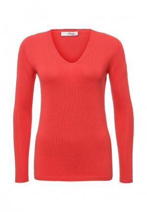 Пуловер Lovini. Цвет: красный
