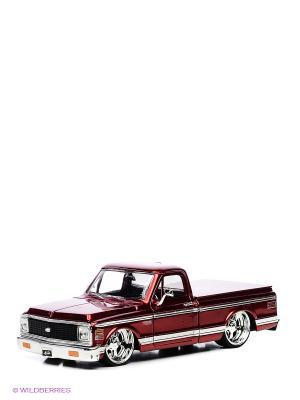 Автомобиль Chevy Suburban (1957) Jada. Цвет: красный