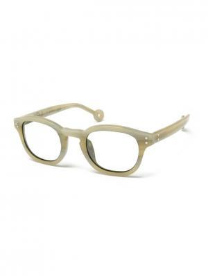 Солнцезащитные очки HS 500 01 HALLY & SON. Цвет: бежевый
