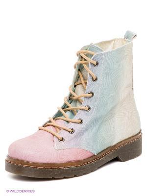 Ботинки COOLWAY. Цвет: розовый, бирюзовый, фиолетовый