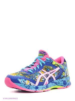 Кроссовки GEL-NOOSA TRI 11 ASICS. Цвет: голубой, розовый, белый