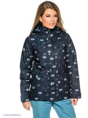 Куртка Burton. Цвет: темно-синий