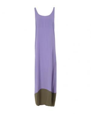 Длинное платье GARAGE NOUVEAU. Цвет: фиолетовый