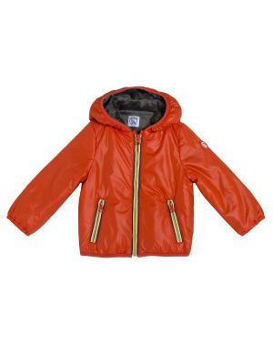 Куртка CHICCO. Цвет: оранжевый