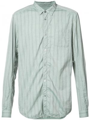 Рубашка в тональную полоску Undercover. Цвет: серый