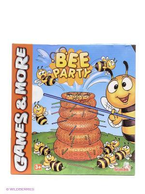Игра настольная Пчелы 6/24 Simba. Цвет: голубой, красный, желтый