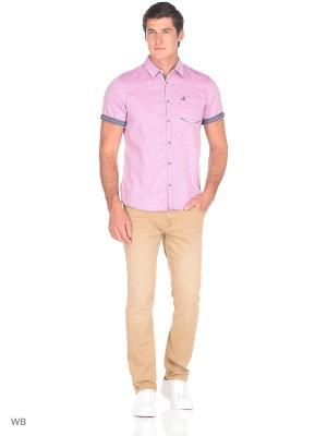 Рубашка TOM TAILOR. Цвет: розовый