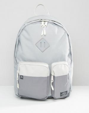 Parkland Серебристый рюкзак на 32 литра Academy. Цвет: серый