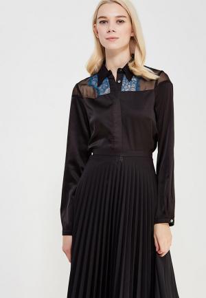 Блуза Koralline. Цвет: черный
