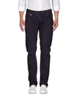 Джинсовые брюки CESARE PACIOTTI 4US. Цвет: темно-фиолетовый