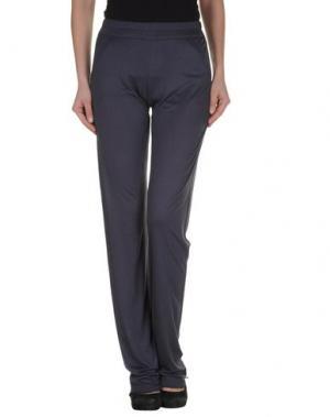 Повседневные брюки RE.SET. Цвет: темно-фиолетовый