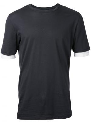 Многослойная футболка 3.1 Phillip Lim. Цвет: чёрный
