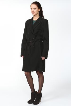 Пальто Ann Demeulemeester. Цвет: черный