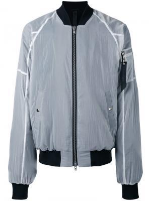 Куртка бомбер Ultra Odeur. Цвет: белый