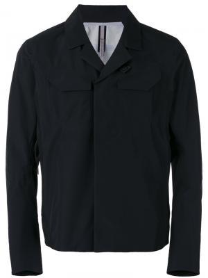 Куртка прямого кроя  Arcteryx Veilance Arc'teryx. Цвет: чёрный