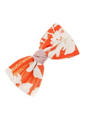 Заколка-автомат для волос Pretty Mania. Цвет: оранжевый, белый, розовый