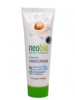 Neobio интенсивный крем для рук. Цвет: белый