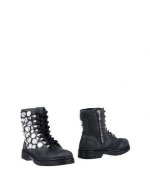 Полусапоги и высокие ботинки 2STAR. Цвет: стальной серый