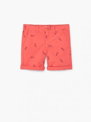 Бермуды - RALPH Mango kids. Цвет: персиковый